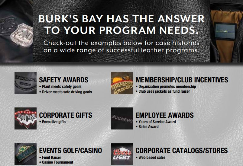 Burk's Bay Leather Jackets