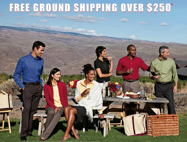 Free Ground Shipping over $250